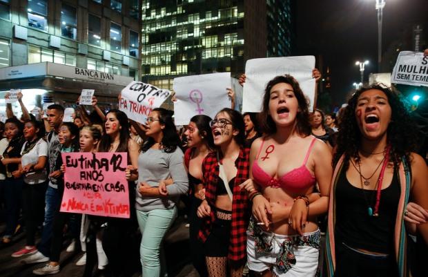 Brazil Gang Rape