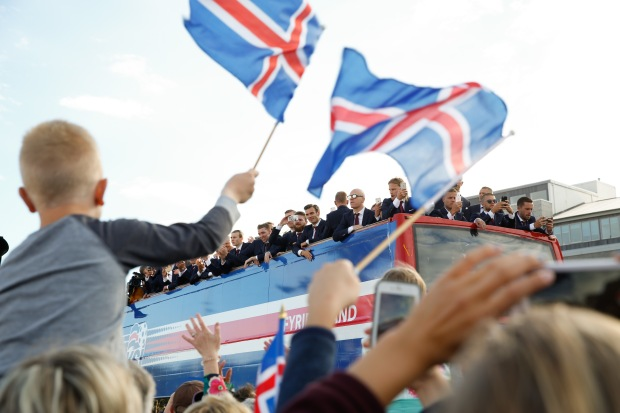 Soccer Euro 2016 Iceland